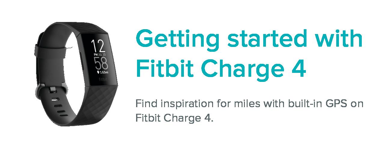 Was sind die ersten Schritte mit Fitbit Charge 9?