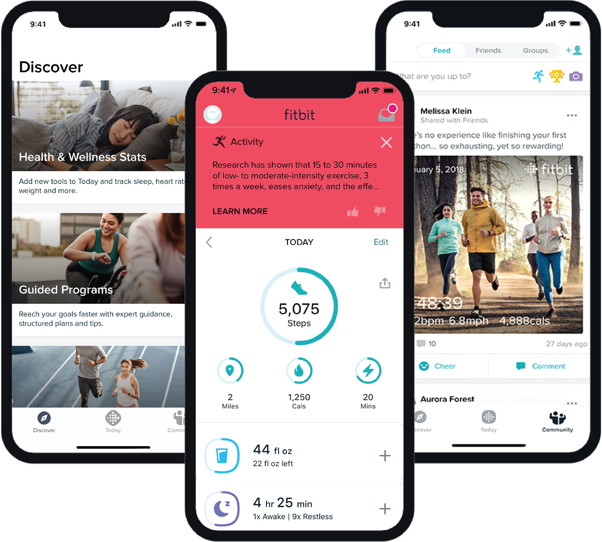 How do I use the Fitbit app?